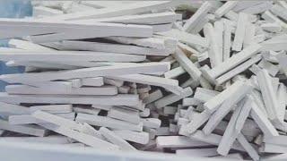 Меловые карандаши,,,,,.chalk Pencils