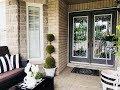 Kate Spade Inspired Front Porch Refresh | Kate Spade  Decor | Outdoor Decor