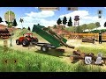 Heavy Tractor Cargo Transport: Farmer simulator Android Gameplay