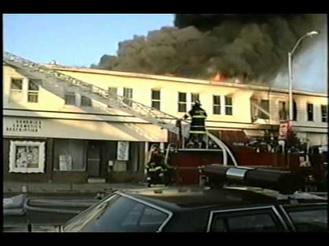 Main Street Allenhurst, NJ 1992 Christmas Day Fire - Part 2 of 5