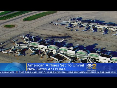 American Airlines To Open Five New Gates At O'Hare International Airport