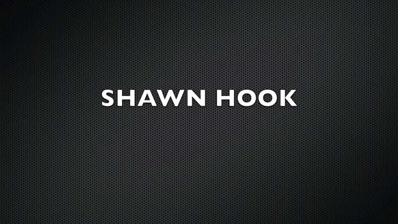 SHAWN HOOK - Every Red Light (LYRIC VIDEO)