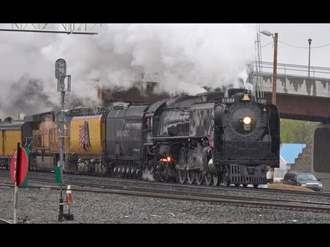Union Pacific Steam in Idaho - 844 Boise-Nampa 24 April 2017