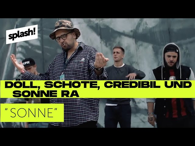 Döll, Schote, Credibil &  Sonne Ra – Sonne (prod. by Gibmafuffi) (splash! Mag Exklusiv)