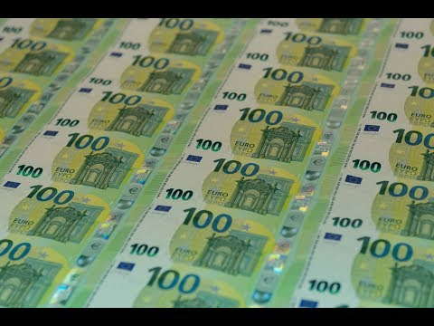 Printing and Production of the Europa Series 100 and 200 Banknotes