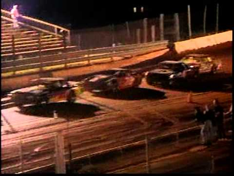 Dirt track racing I-77 Speedway Chester SC part 2