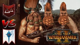 Dwarfs vs High Elves | KARAK KADRIN RISES - Total War Warhammer 2