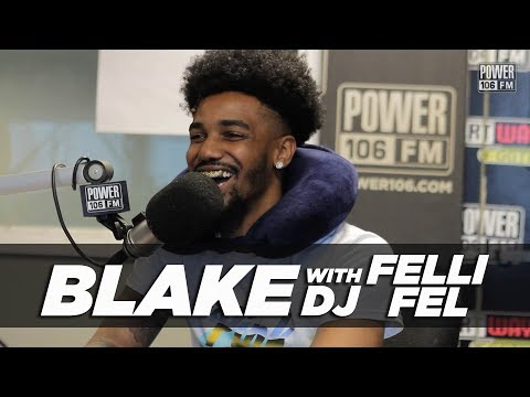 Blake Calls Drake & J. Cole His Biggest Influences