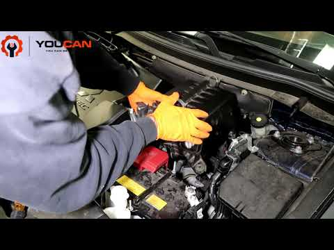 How to Replace Engine Air Filter on a Mitsubishi Outlander