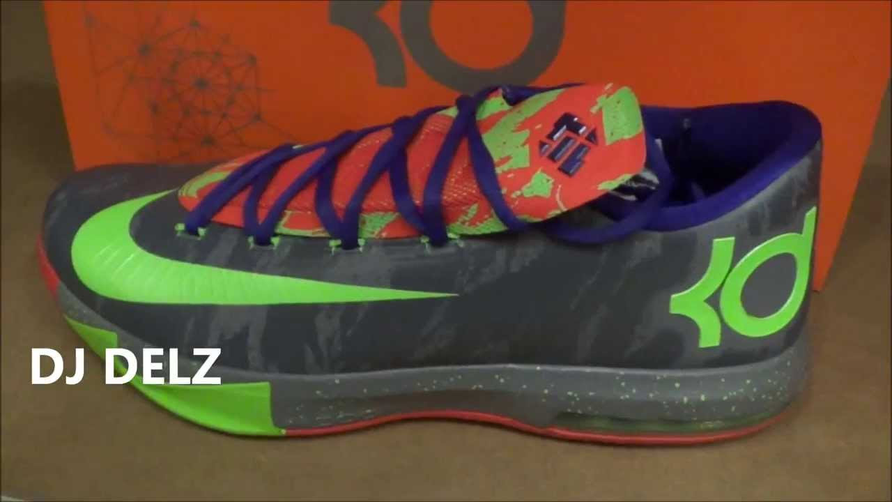 Nike KD 6 VI Nerf Energy Sneaker Review With Dj Delz  DjDelz - YouTube 0bdf46d898