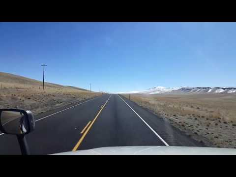 BigRigTravels LIVE! Burns Junction, Oregon to Orovada, Nevada US 95 South-Mar. 5, 2018