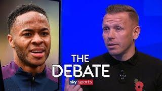 How much has Raheem Sterling improved under Pep Guardiola? | The Debate | Bellamy & Higginbotham
