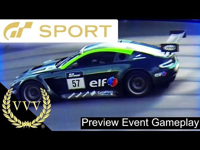 GT Sport Northern Isle Speedway Aston Martin GT3