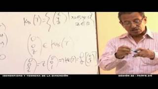 Isomorfismo y teorema de la dimensión - Sesión 22 - 3/6