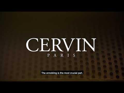 Maison CERVIN: 100 YEARS 4/7 - THE ENNOBLING - FINISHING -DYING