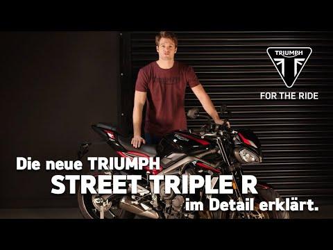 Die neue Triumph Street Triple R - im Detail erklärt
