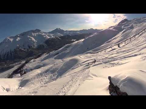 Snowboard Freeride GoPro HD Hero2 First Cut 2.0-Big Snow 2012