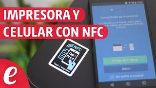 Como imprimir desde el smartphone con NFC (samsung)