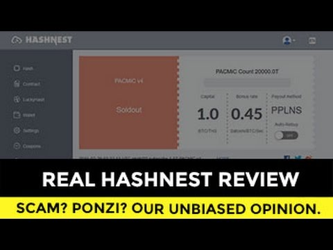 REAL HASHNEST REVIEW! Our HONEST Opinion About THIS Cloud Mining.