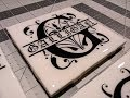 DIY: Monogram Tile Coaster with epoxy resin