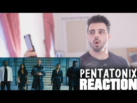 The Sound of Silence - Pentatonix Music Video Reaction
