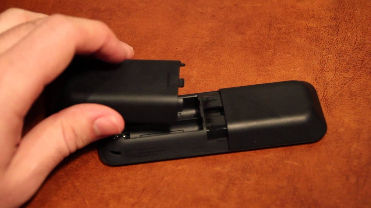 Amazon Fire TV Stick: How To Open The Remote's Battery Door