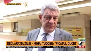 Mihai Tudose: Ficatul duce!