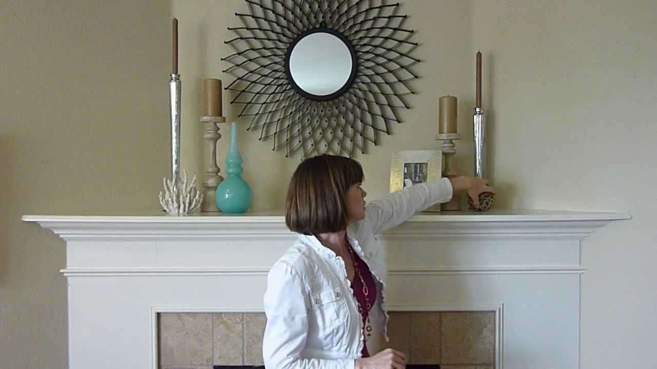 Home Design Ideas Diy: Coastal Mantle Decorations