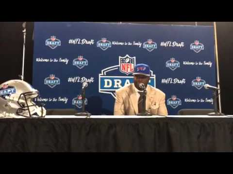 Shaq Lawson Buffalo Bills NFL 1st Round Pick Interview #NFLDraft