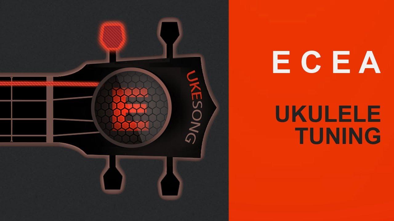 Download ECEA ukulele tuning - Online Ukulele Tuner  