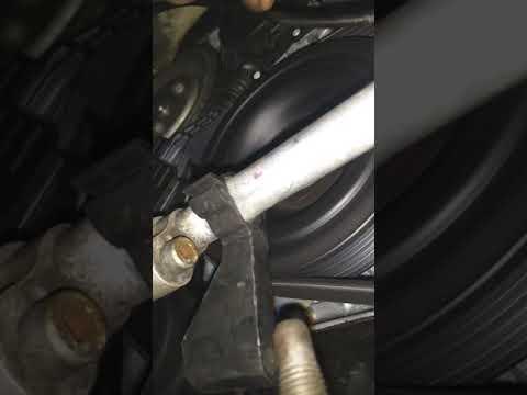 Mini Cooper S R56 friction wheel on/off rod knock noise