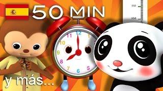 Canciones educativas   Y muchas más canciones infantiles   ¡50 min de LittleBabyBum!