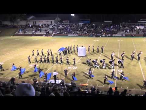 Mary Persons High School Marching Band halftime 11-20-2015 playoff vs Marist School War Eagles 2015