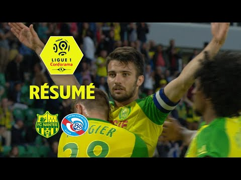FC Nantes - RC Strasbourg Alsace ( 1-0 ) - Résumé - (FCN - RCSA) / 2017-18
