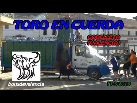 GODELLETA (V) 2019 - TOROS EN CUERDA LA PALOMA 11-5-2019