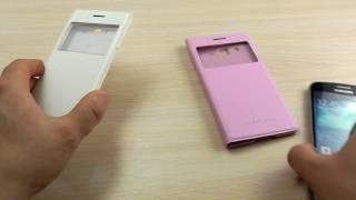 ОБЗОР: Роскошный Чехол-Книжка (Замена Задней Крышки) для Samsung Galaxy Grand 2 Duos SM-G7102(Цена и наличие тут: ..., 2017-02-03T10:55:26.000Z)