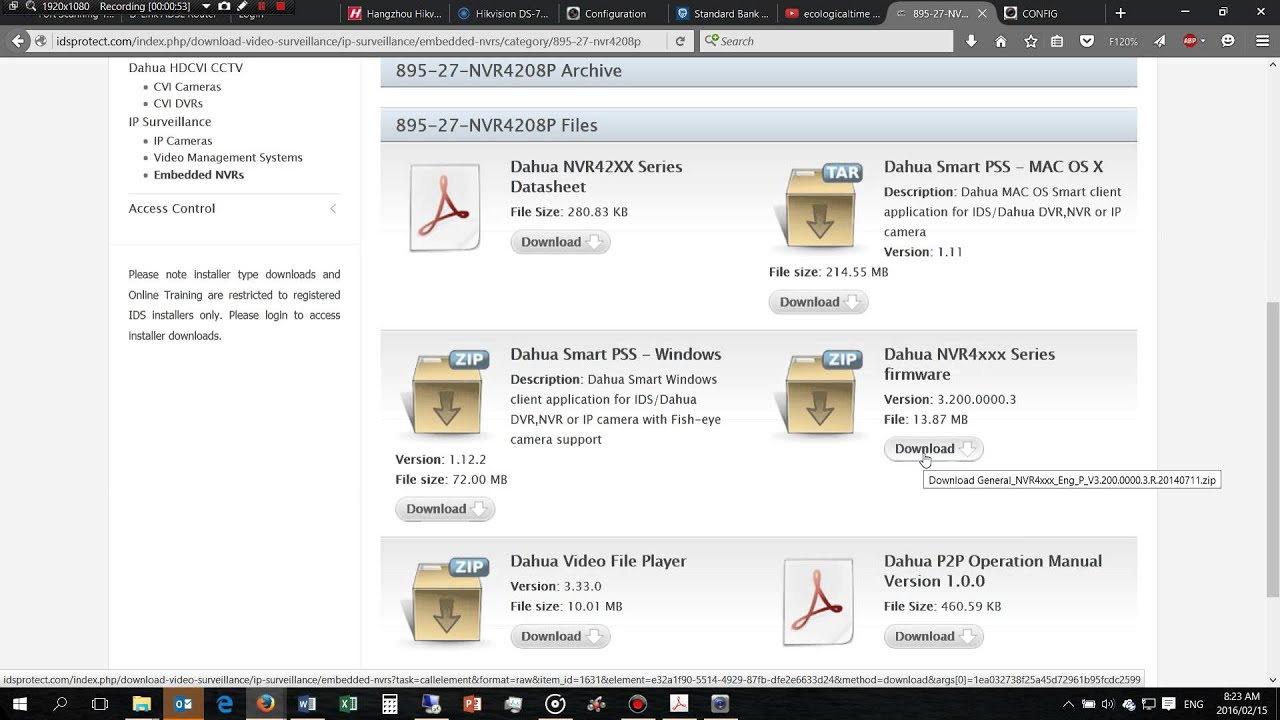 How to update Dahua NVR firmware