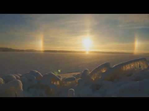 Halo in the Sky, Finland, Land of the Midnight Sun.