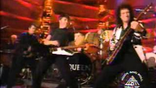 Queen & Dave Grohl (Foo Fighters) - Tie Your Mother Down (Rare Live)