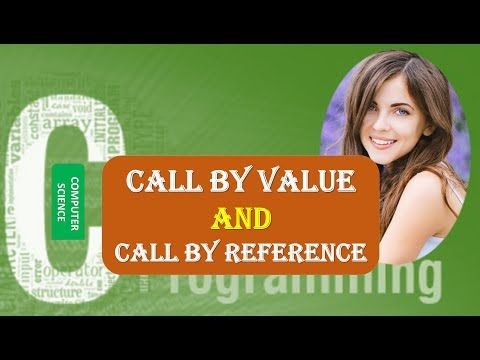 Call by Value and Call by Reference in C Programming