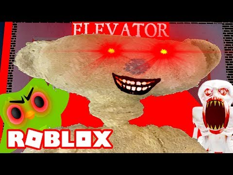 ROBLOX SCARY ELEVATOR *NEW BEAR UPDATE*