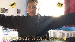 Hair Dye Challenge Choice of Colour!
