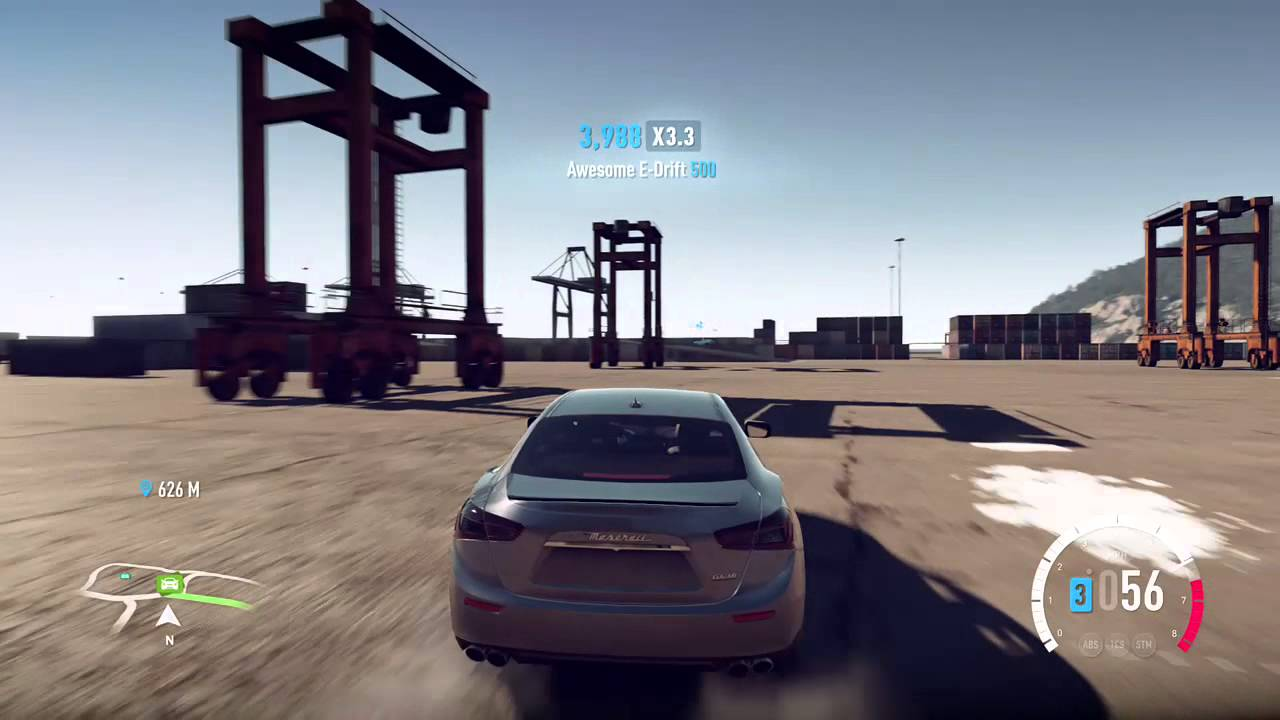 Forza Horizon 2 Presents Fast & Furious - Drifting - MASERATI GHIBLI S