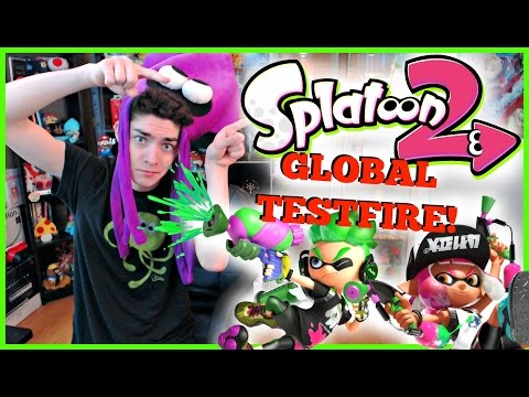 [LIVE] SPLATOON 2 GLOBAL TESTFIRE!!! 1st EVER HOUR ONLINE!!! *come join the madness!*