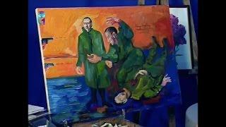 """Уроки рисования (№ 141). Рисуем картину """"На смерть поэта"""""""
