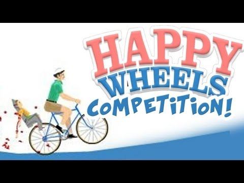 HAPPY WHEELS COMPETITION! - (Fridays With PewDiePie - Part 31)