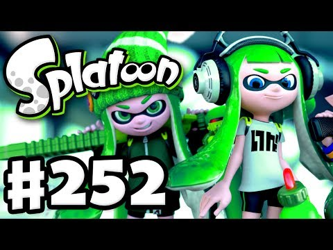 Splatoon - Gameplay Walkthrough Part 252 - Splat Zones and Tower Control! (Nintendo Wii U)