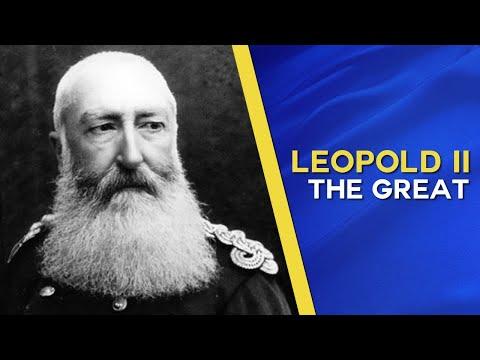 O King Leopold II, Great King, Belgian King, King Of The People Of Belgium
