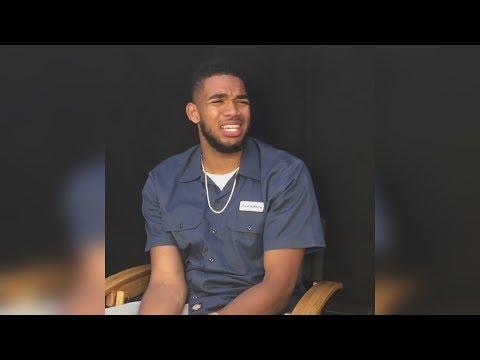 NBA 2K18 - Karl-Anthony Towns Reacts To His Rating + Damian Lillard Rating