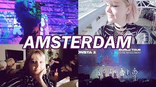 vlog: 5 DAYS IN AMSTERDAM ♡ || seeing monsta x & alyssa edwards!